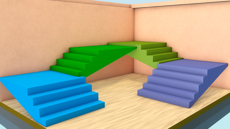 staircases: Endless stairs