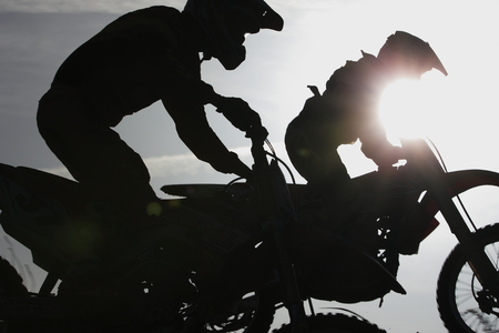 Motocross freedom Archivio Fotografico