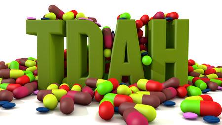 hyperactivity: TDAH disorder