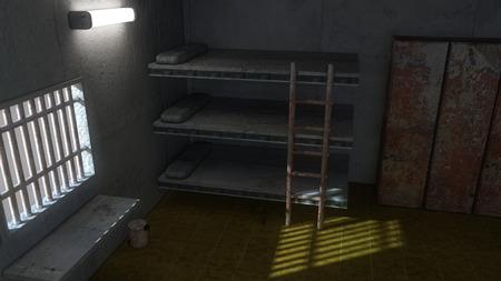jail: 3d interior Jail