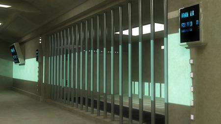 jailhouse: 3d interior Jail