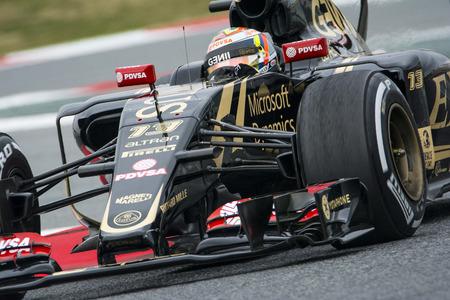 team lotus: Driver Pastor Maldonado Team Lotus F1.