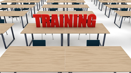 Training classroom Stock Photo - 37155883