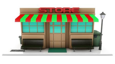 shopfront: Mini 3d store