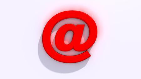 webmail: Arroba sign