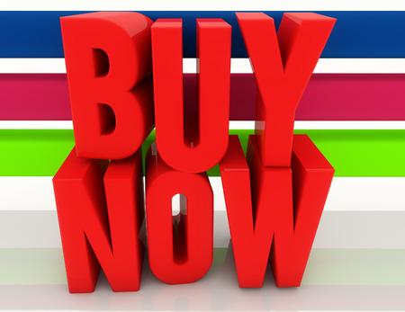 buy now: Buy now 3d text