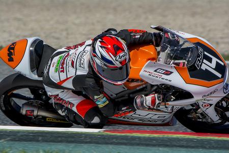 cev: Patrik Pulkkinen. AJO Motorsport Team. FIM CEV Repsol International Championship. Barcelona Spain  June 20 2015