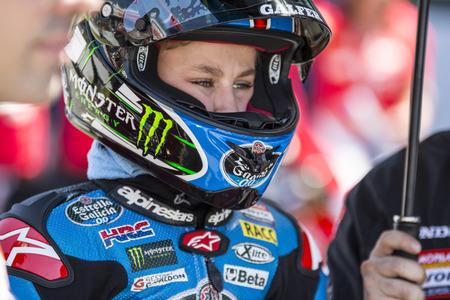 cev: Jaume Masia. Moto3. Junior Estrella Galicia Team. FIM CEV Repsol International Championship. Barcelona Spain  June 20 2015