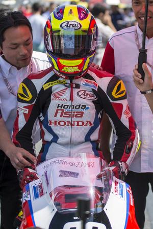 repsol honda: Khairul Idham. Moto3. Honda Asia Team. FIM CEV Repsol International Championship. Barcelona Spain  June 20 2015