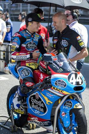 cev: Aron Canet. Moto3. Junior Estrella Galicia Team. FIM CEV Repsol International Championship. Barcelona Spain  June 20 2015