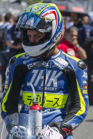 cev: Davide Pizzoli. Moto3. Laglisse Team. FIM CEV Repsol International Championship. Barcelona Spain  June 20 2015 Editorial