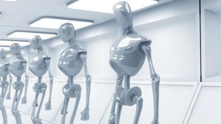 SCIFI futuristic robots
