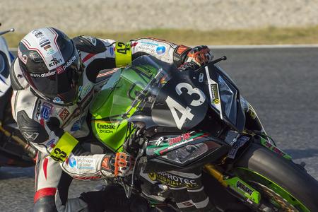 Team CC Motos Racing Endurance. 24 uur uithoudingsvermogen Catalunya Championship. Barcelona circuit .. Barcelona, Spanje - 11 juli 2015