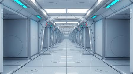 future background: Futuristic interior