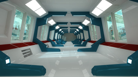 interior architecture: SCIFI interior architecture