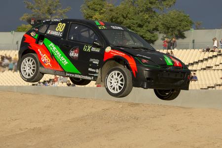 fia: Christian GIAROLO. Ford Focus. Barcelona FIA World Rallycross Championship. Montmelo, Spain. September 20, 2015