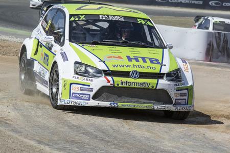fia: Tommy RUSTAD. Volkswagen Polo. Barcelona FIA World Rallycross Championship. Montmelo, Spain. September 20, 2015