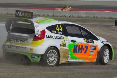 fia: Laia SANZ. TOKSPORT WRT. Barcelona FIA World Rallycross Championship. Montmelo, Spain. September 20, 2015 Editorial