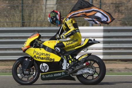 Alex RINS. Paginas Amarillas Team. Grand Prix Movistar of Aragón of MotoGP. Aragon, Spain. 27th September 2015 Editorial