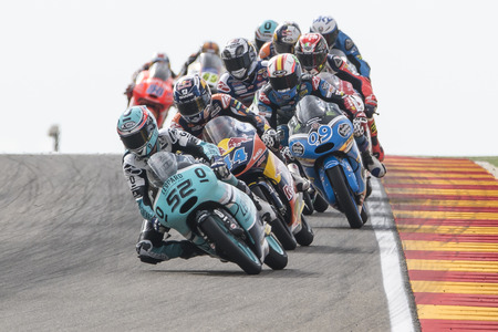Danny KENT. Moto3. Grand Prix Movistar of Aragón of MotoGP. Aragon, Spain. 27th September 2015
