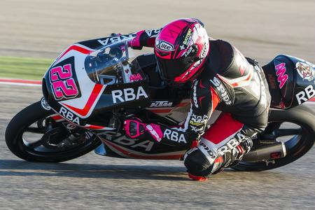 moto gp: Ana CARRASCO. Moto3. Grand Prix Movistar of Aragón of MotoGP. Aragon, Spain. 27th September 2015