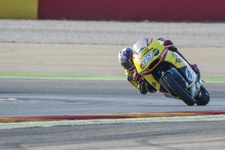 moto2: Luis SALOM. Moto2. Grand Prix Movistar of Aragón of MotoGP. Aragon, Spain. 27th September 2015 Editorial