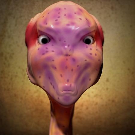 abduction: Alien portrait