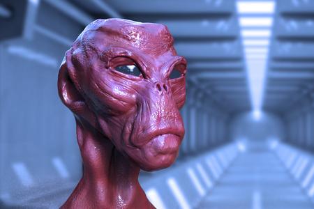 anticipation: Alien portrait