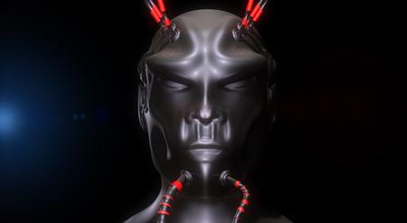 science fiction: Alien SCIFI portrait