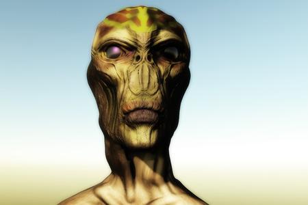 anticipation: Alien SCIFI portrait