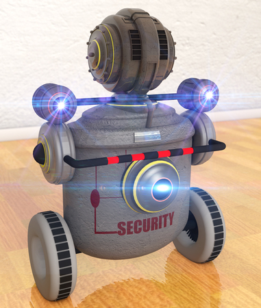 penitentiary: Security robot