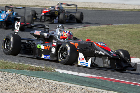 igor: Driver Igor WALILKO. Euroformula Open. International GT Open. Montmelo, Spain. November 1, 2015 Editorial