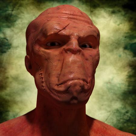 abduction: SCIFI alien portrait
