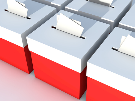 designate: Ballot box to vote