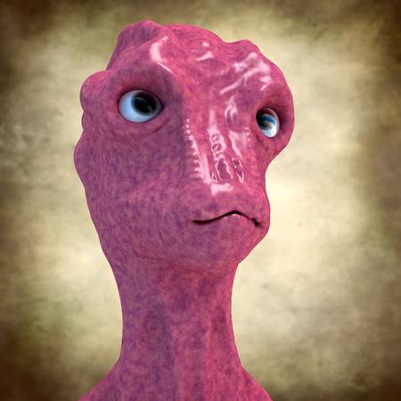 armageddon: Alien portrait
