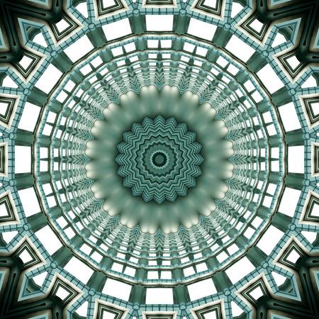 mandala: Abstract pattern mandala Stock Photo
