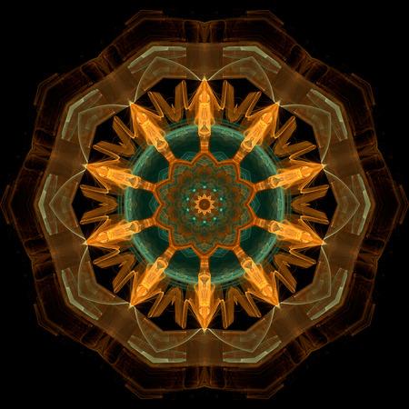 traditional pattern: Abstract background mandala pattern
