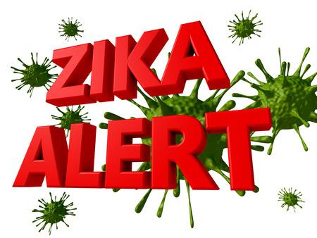 norovirus: Zika virus alert Stock Photo