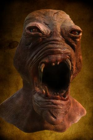 x files: 3d alien portrait