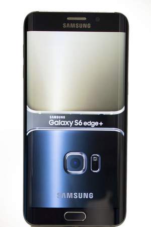 samsung: Mobile Samsung galaxy 6 Edge. Mobile World Centre. Barcelona, Spain. February 27, 2016