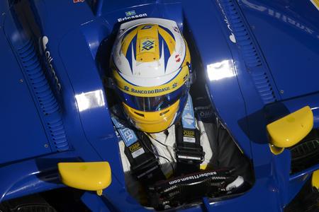 ericsson: Driver Marcus Ericsson. Team Sauber F1. Formula One Test Days at Circuit de Catalunya. Montmelo, Spain. March 2, 2016