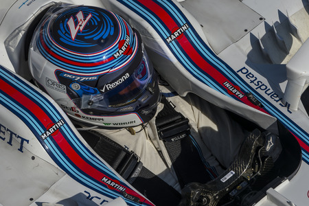 formula one: Driver Valtteri Bottas. Team Williams Martini. Formula One Test Days at Circuit de Catalunya. Montmelo, Spain. March 2, 2016
