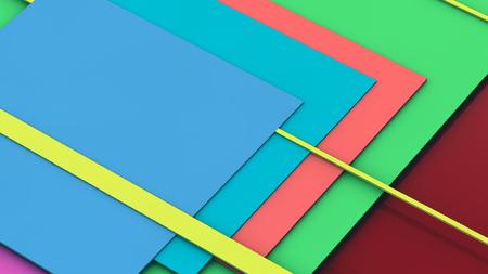 material: Colorful material design Stock Photo