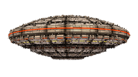 UFO Alien-Raumschiff
