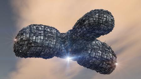 UFO Spaceship concept