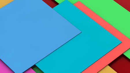 material: Colorful material design Stock Photo