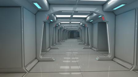 futuristic: Futuristic spaceship