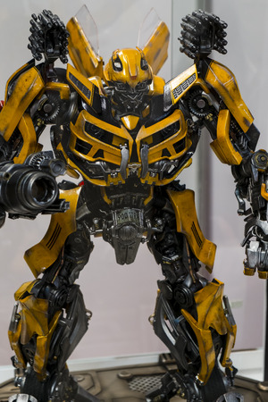 Transformers Action Figure Bumblebee Editorial