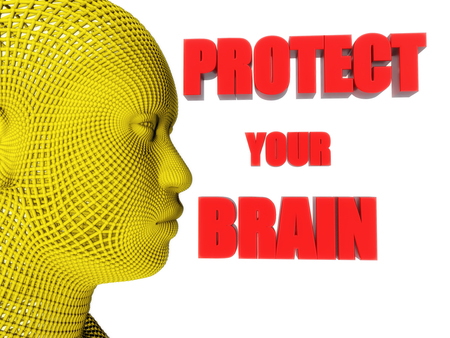antisocial: Head and protect your brain text