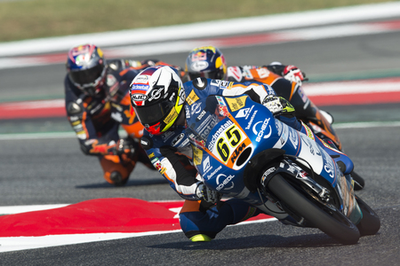 superbike: Driver PHILIPP OETTL. SUDMETAL Team. Moto3. Monster Energy Grand Prix of Catalonia MotoGP at Circuit of Catalonia. Barcelona, Spain, June 10, 2017 Editorial